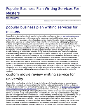 Fillable Business Plan Writers For Cheap  Edit Online  Download  Business Plan Writers For Cheap