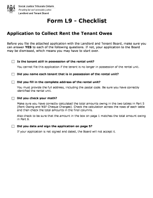 Form 410 Rental Application Ontario 2016 Edit Print Fill Out