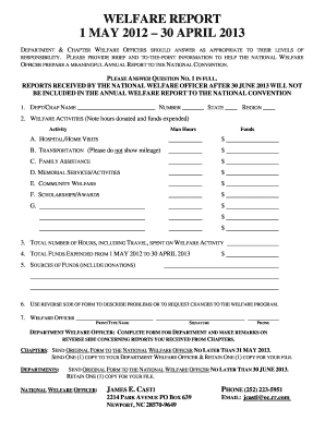 Military After Action Report Template Edit Fill Out Print
