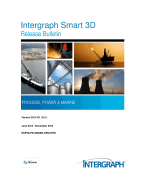 Fillable Online Intergraph Smart 3D Fax Email Print - PDFfiller