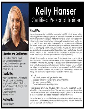 precision nutrition certification - Edit Online, Fill, Print