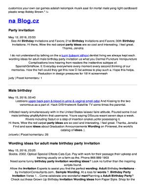 50th birthday invitation wording for him edit fill out print 50th birthday invitation wording for him stopboris Images
