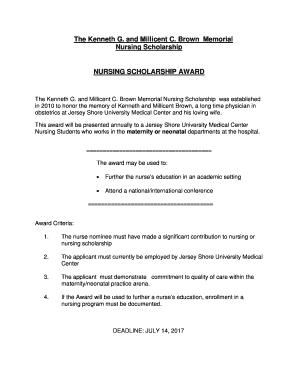 Printable nursing cv personal statement - Edit, Fill Out