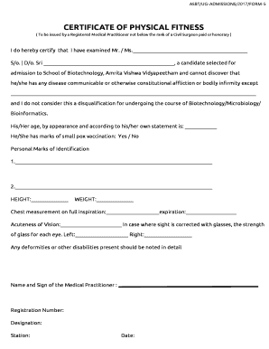 lhssa physical form 2017 edit print fill out download online