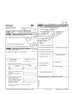 form 1065 online  Fillable Online Schedule K-100 (FORM 100065), PAGE 100 OF 10 Fax ...