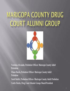 Fillable Online Veronica Alvarado Probation Officer Maricopa