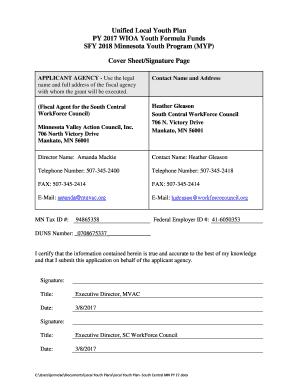 Fillable cover letter for after school program job - Edit Online ...