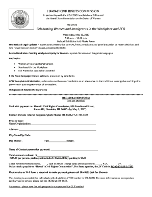 HAWAII CIVIL RIGHTS COMMISSION  Civil Complaint Template