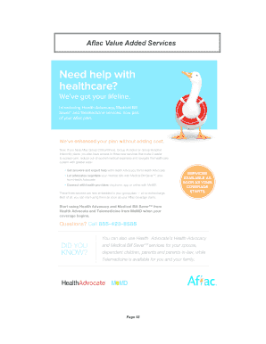 Aflac Hospital Indemnity Mark Iii Employee Benefits Fill Online