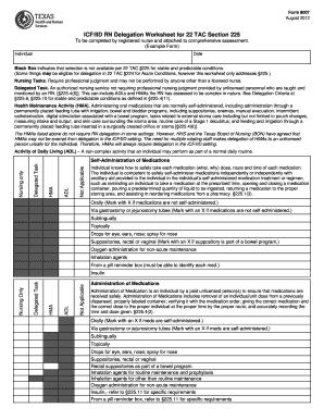 Nursing Assessment Example