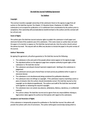 Journal publishing agreement elsevier the best agreement of 2018 journal publishing agreement form elsevier best resumes platinumwayz