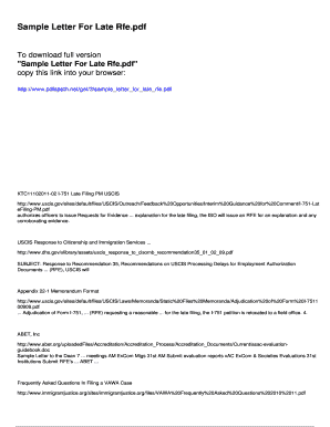 Editable expert opinion letter h1b rfe - Fill, Print & Download