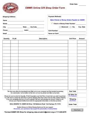 american express delta card 60 000 miles  Fillable Online EMMR Online Gift Shop Order Form Fax Email ...