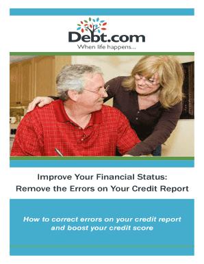 Sample letter to credit bureau to remove old debt edit online improve your financial status spiritdancerdesigns Choice Image