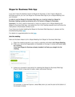 Skype For Business Login Online