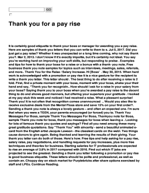 Thank You Letter To Boss For Confirmation Letter Editable
