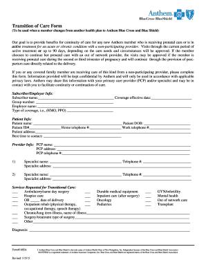 2015-2020 Form Anthem 1685A Fill Online, Printable ...