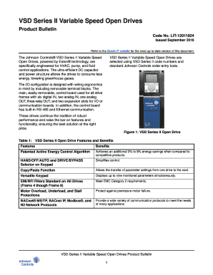 Vsd variable speed drive pdf