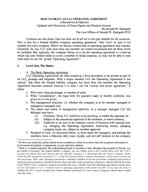 Fillable Llc Sweat Equity Agreement Edit Print Download