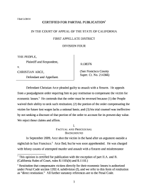 Filed 5/28/14 CERTIFIED FOR PARTIAL PUBLICATION* IN THE ...