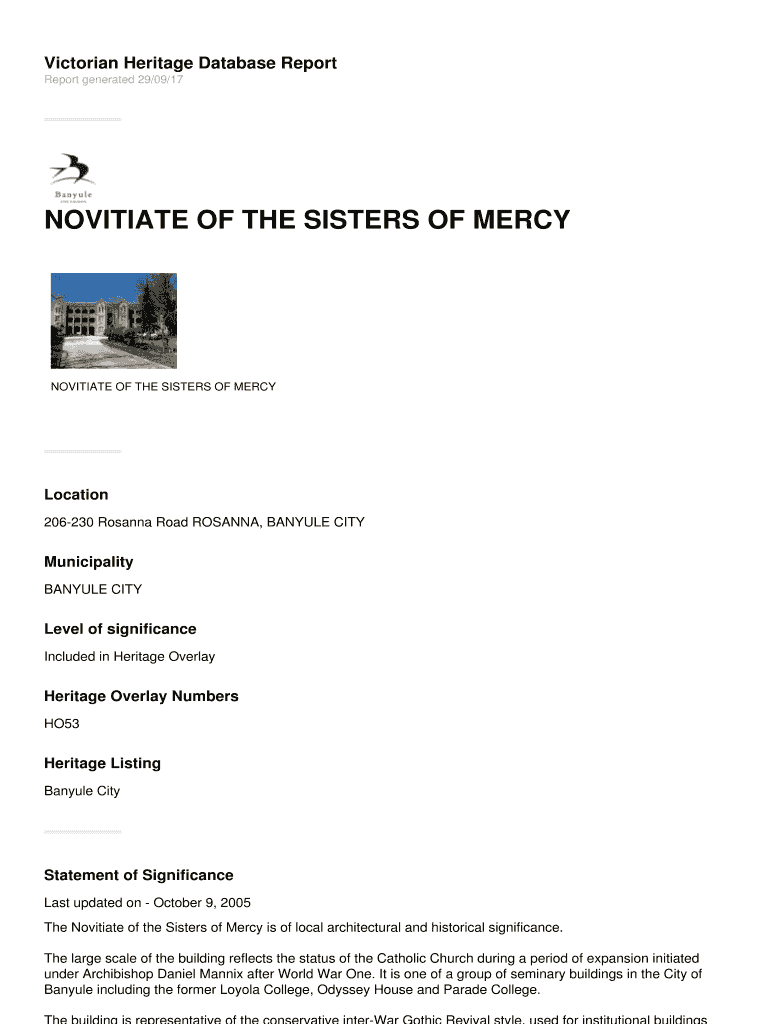photo about Printable Architectural Scale titled NOVITIATE OF THE SISTERS OF MERCY Fill On the web, Printable