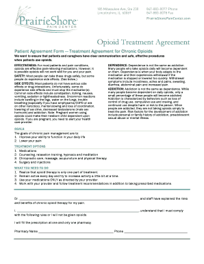 Opioid agreement form edit fill print download online blanks patient agreement form treatment agreement for chronic opioids pronofoot35fo Image collections