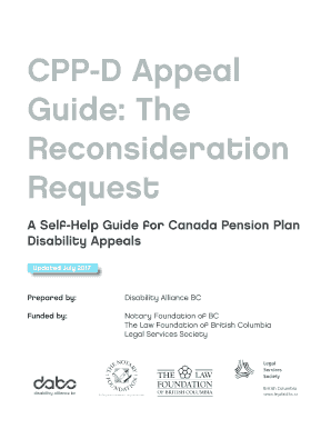 CPP D Appeal Fill Online Printable Fillable Blank