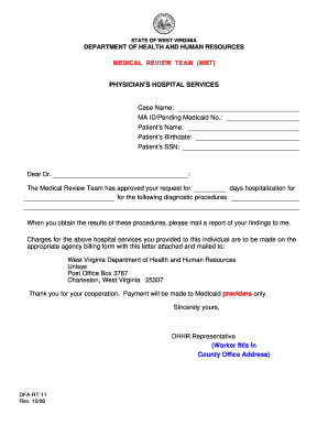 Fillable Online MEDICAL REVIEW TEAM (MRT) Fax Email Print