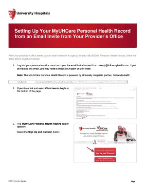 myuhcare personal health record