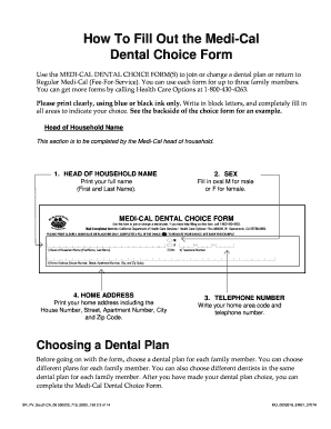 medical choice form how to fill out medical choice form - Edit, Print, Fill Out ...