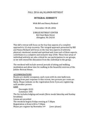integral sobriety fill online printable fillable blank behavior