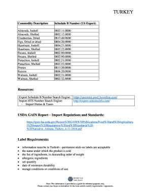 Printable search importer number - Edit, Fill Out & Download Forms