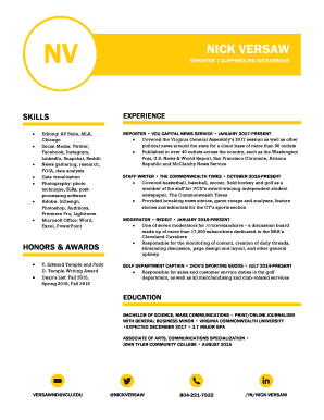 indesign resume template reddit - Fill Out Online Forms