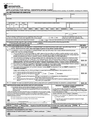 Fill Blank Pdffiller Printable Fillable 2014 Pa Form Online Dl-54a -