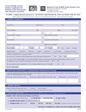 photograph regarding Printable Mv-1 Form, Pennsylvania named pennsylvania place disability - Samples Record Templates