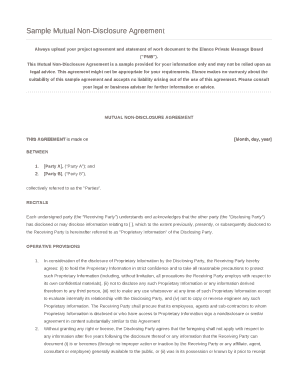 Mutual Will Agreement Sample Edit Print Fill Out