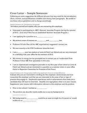 Sample letter of interest for school secretary position fill out cover letter sample sentences expocarfo Choice Image