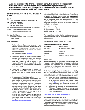 Affidavit For Lost Passport Ghana