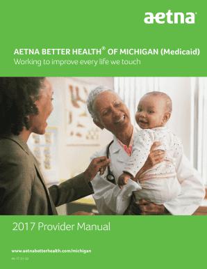 aetna medicare provider manual - Fillable & Printable Resume