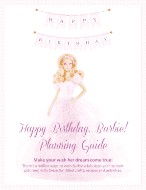 How to write invitation card for birthday party edit fill out how to write invitation card for birthday party happy birthday barbie stopboris Gallery