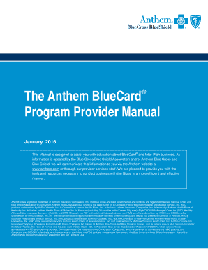 Submit anthem blue cross blue shield federal ...