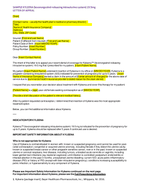 Printable appeal letter to insurance company for ...