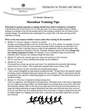 marathon training schedule for beginners 16 weeks - Edit