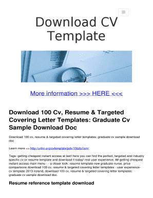 20 resume templates download create your resume resume template company cv template doc download 100 cv resume targeted cv samples download doc yelopaper Image collections