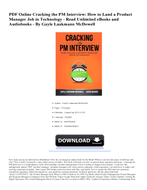 job interview pdf - Fillable & Printable Samples & Templates