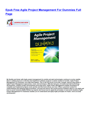 Project dummies agile ebook for download management