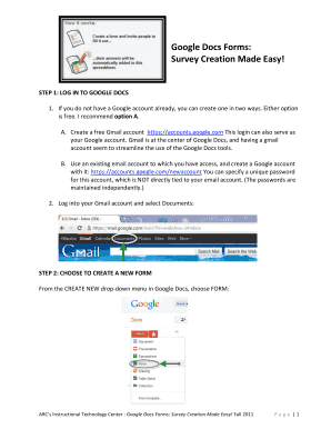 Google Form Google Docs Edit Fill Out Online Templates Download