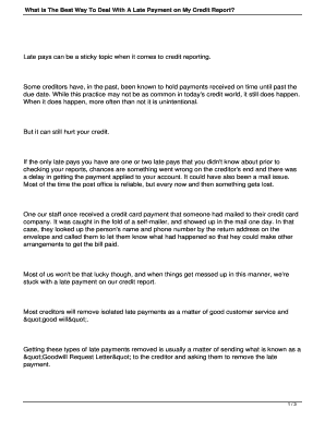 Sample goodwill letter to creditor edit online fill print what is the best way to deal with a late payment on my credit report spiritdancerdesigns Image collections