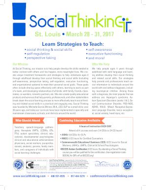 Social Thinking Executive Functioning >> Fillable Online Social Thinking Social Communication Profile