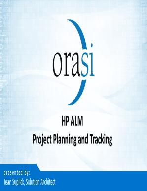 Editable progress graph in hp alm - Fill, Print & Download